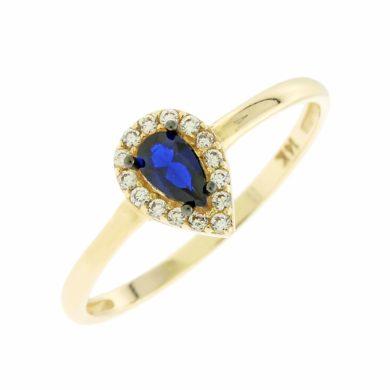 Δαχτυλίδι Ροζέτα 5div.5550r