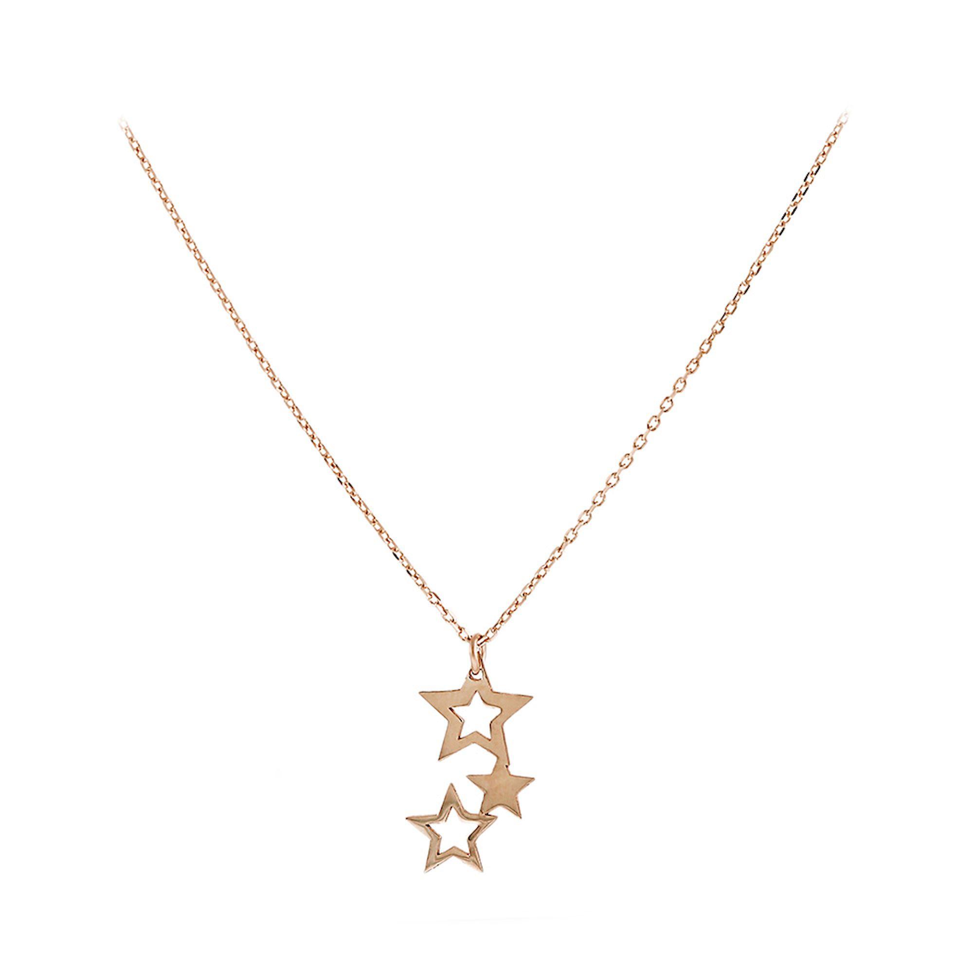 Κολιέ Κ14 με Αστέρια 5bl.3159rc