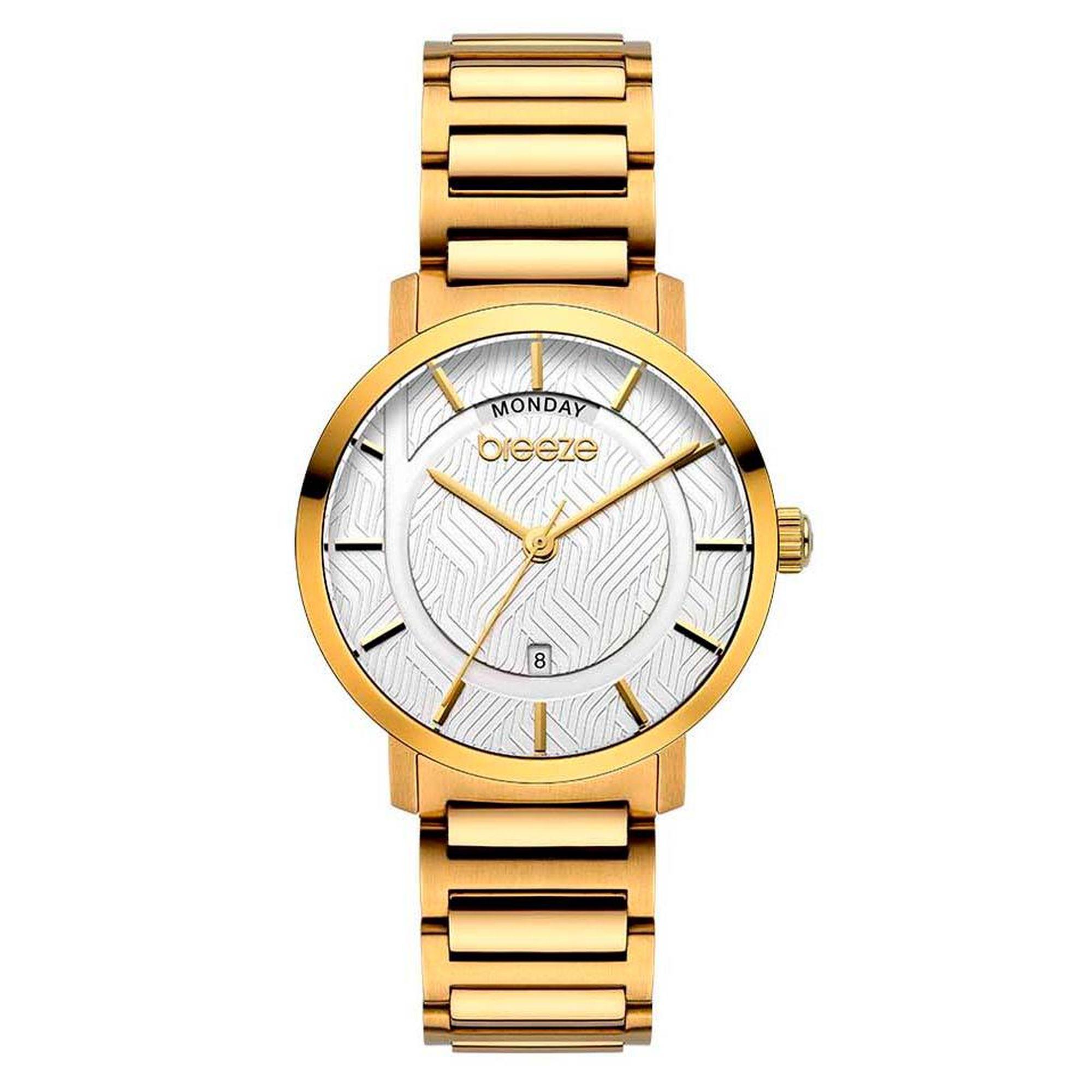 Breeze Superfect Gold 212081.2, breeze, ρολόγια Breeze, γυναικεία ρολόγια, Δωρεάν μεταφορικά, Άμεση Διαθεσιμότητα