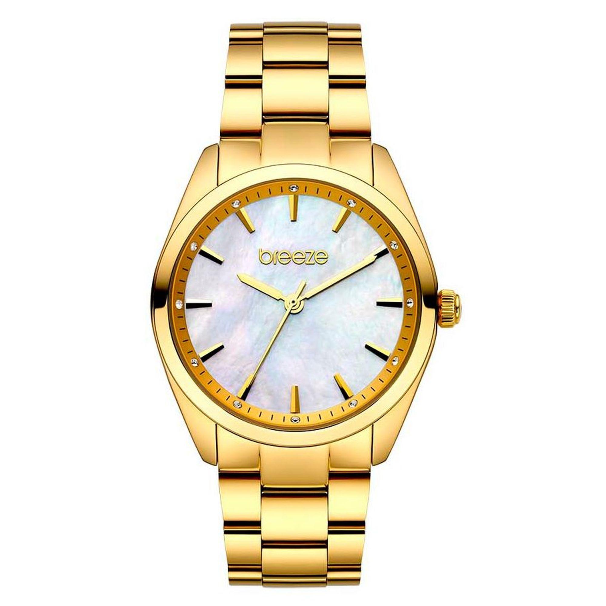 breeze, ρολόγια Breeze, γυναικεία ρολόγια, Δωρεάν μεταφορικά, Άμεση Διαθεσιμότητα, Breeze Finesse Gold 212051.1
