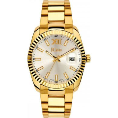 JCOU Queen's gold steel bracelet JU15086-8