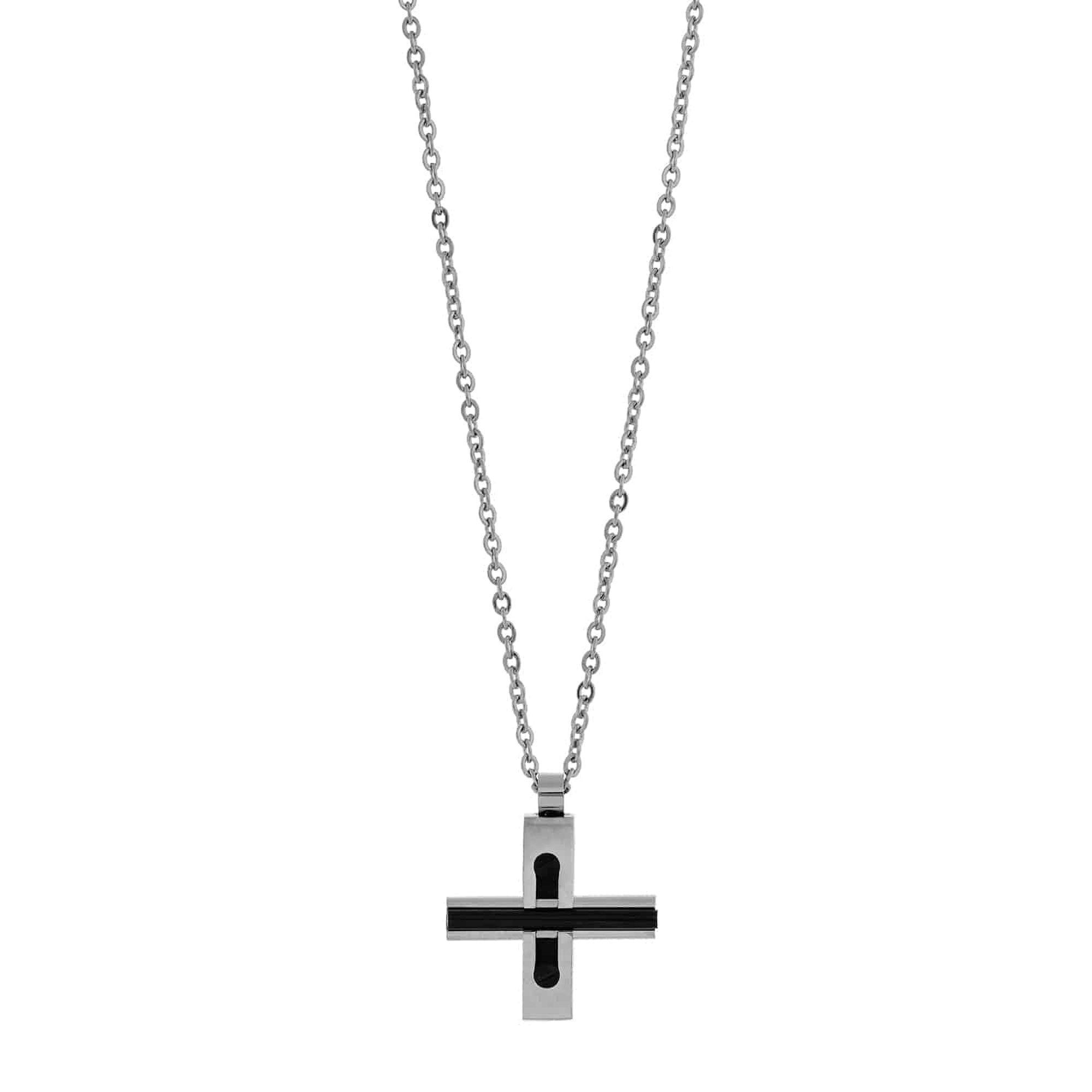 Ανδρικό Κολιέ - Σταυρός Visetti ADKD029 (1)