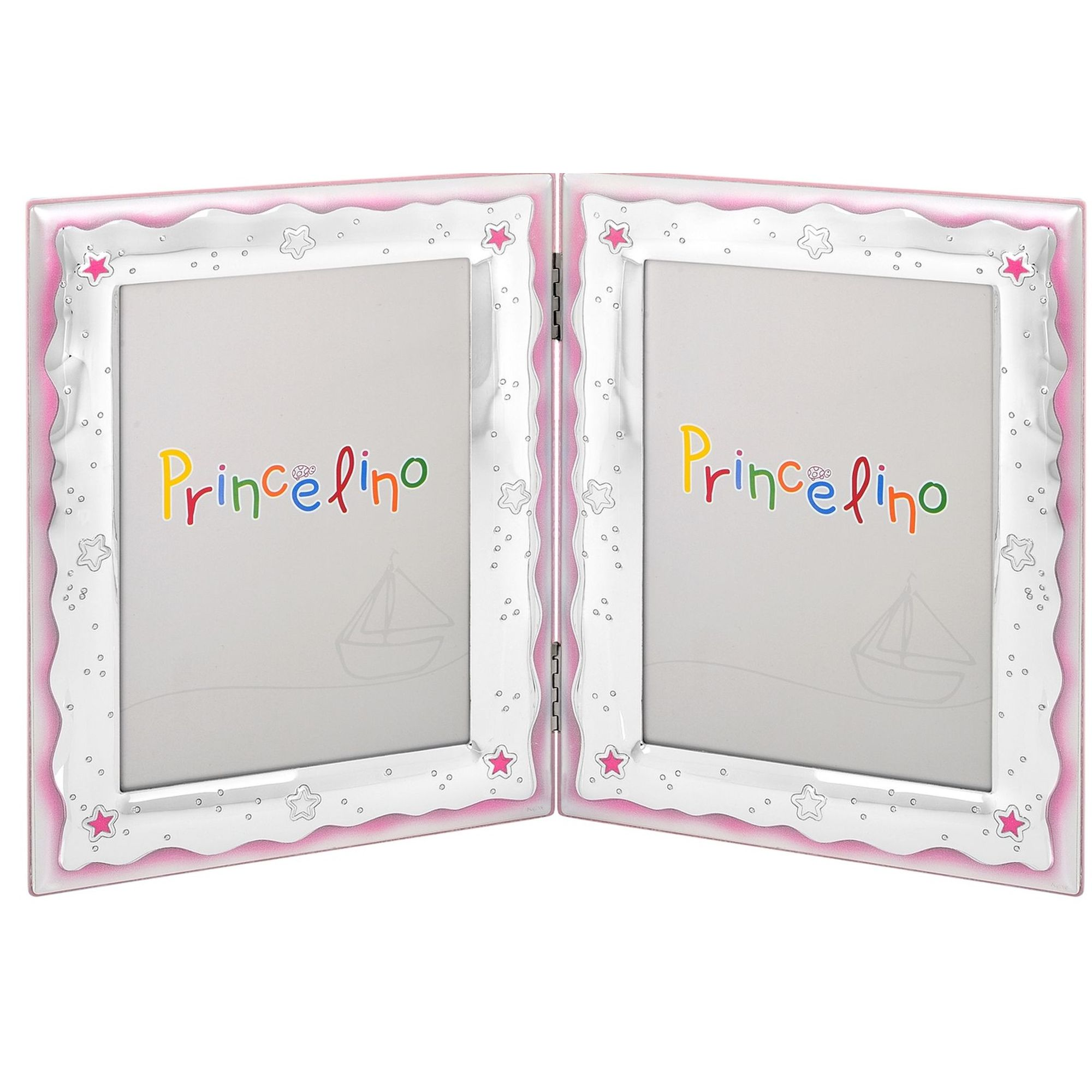 Princelino Παιδική Διπλή Κορνίζα Για Κορίτσι MA-143-2B-RR
