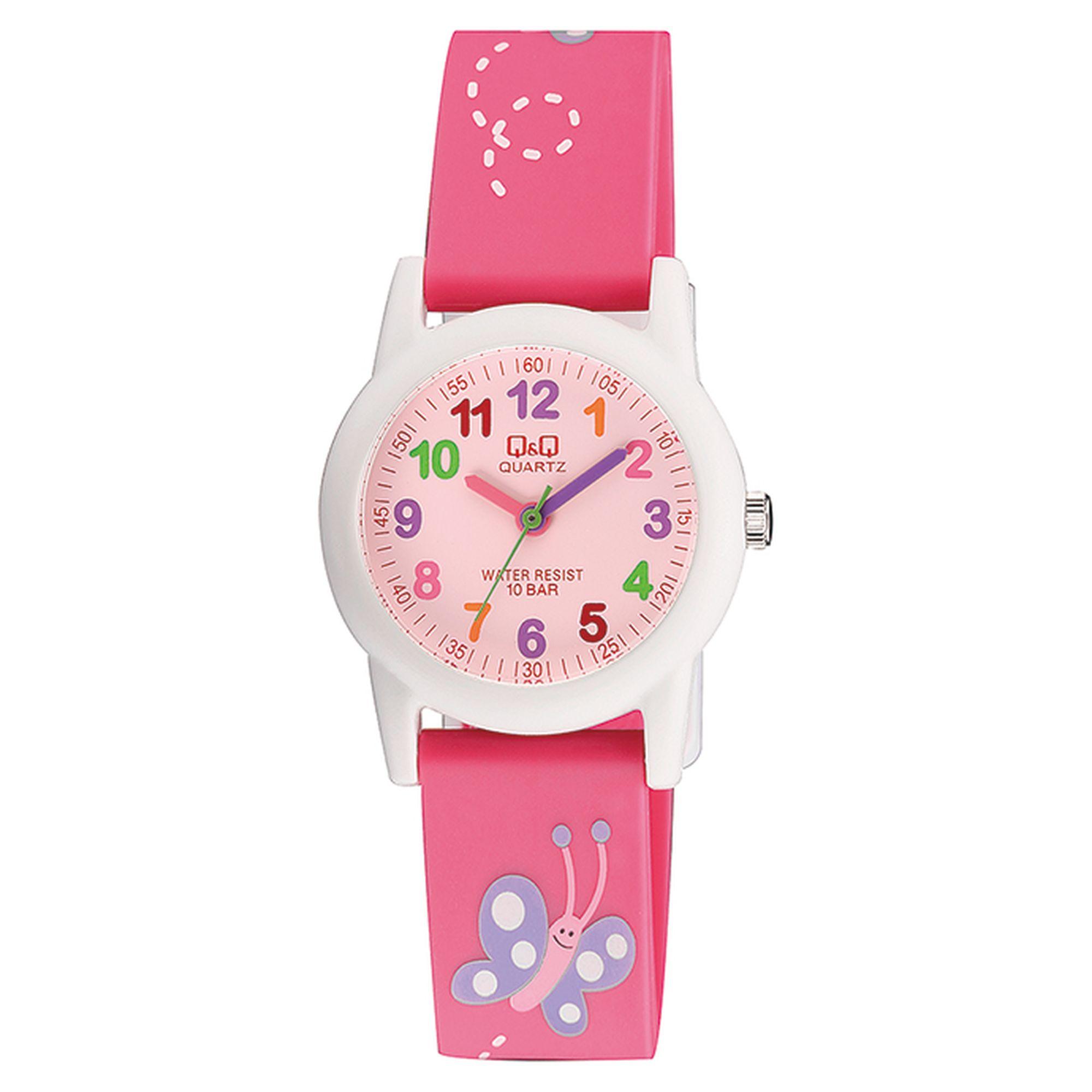 Q&Q ρολόι με πεταλούδες VR99J002Y