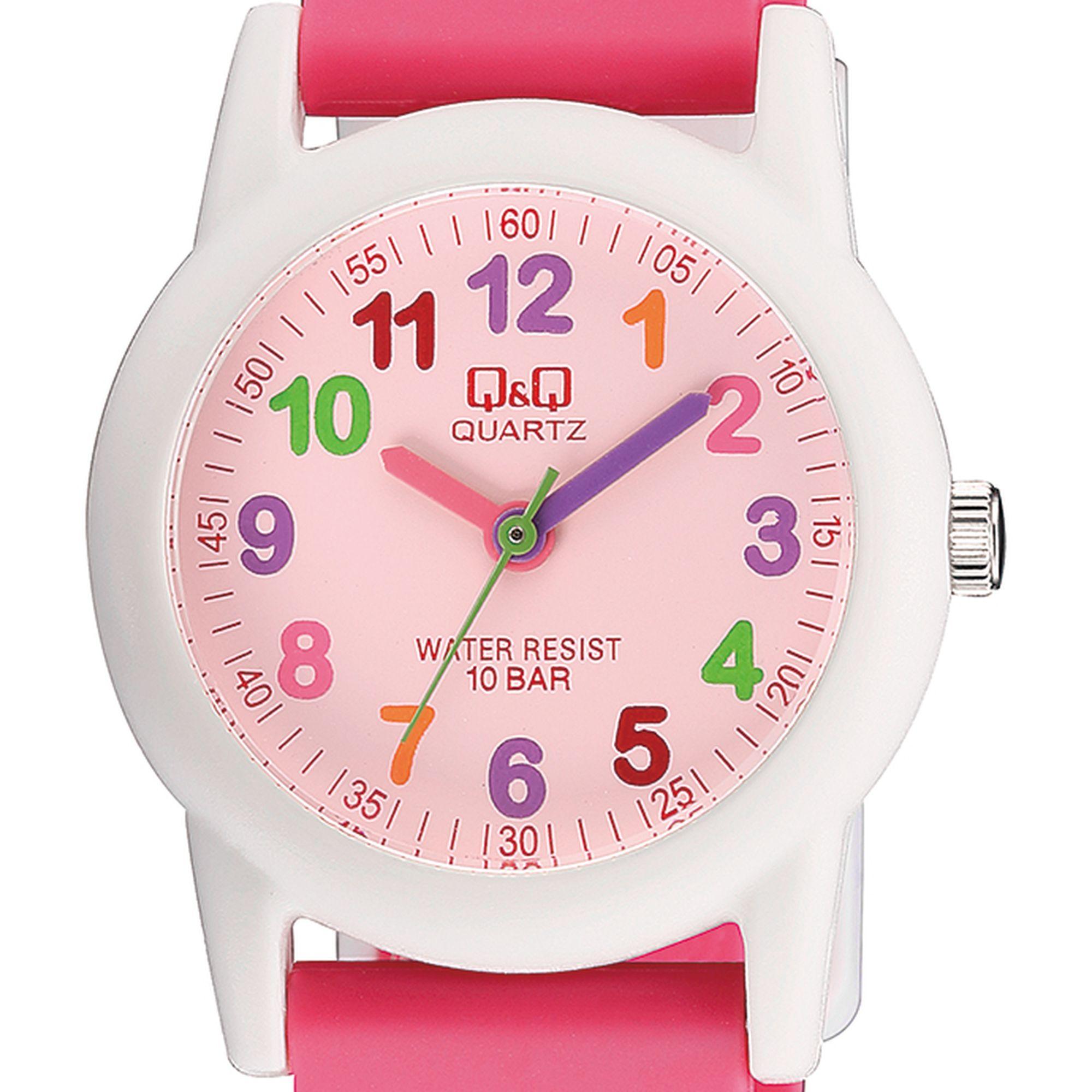 Q&Q παιδικό ρολόι με πεταλούδες VR99J002Y