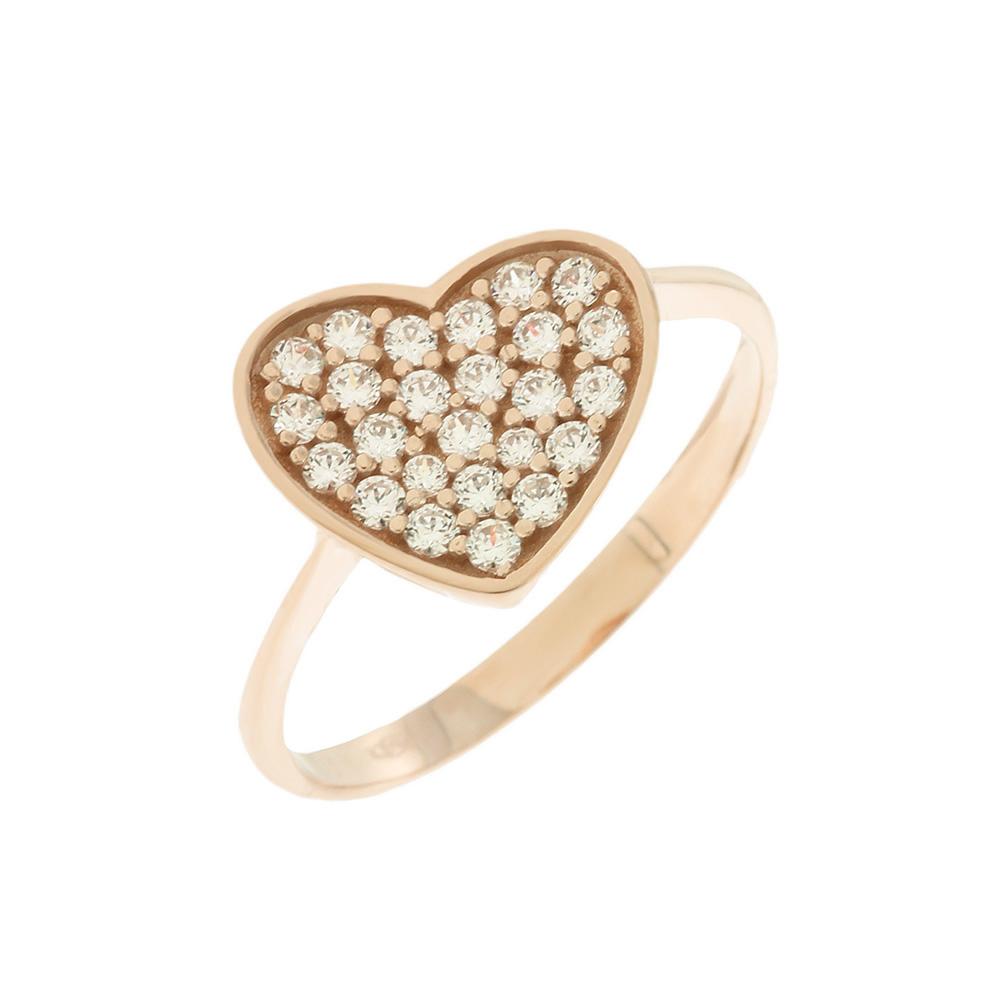 Δαχτυλίδι Ροζ Gold 14 Καρατίων σε σχήμα Καρδιάς, Χρυσό Δαχτυλίδι, Δαχρτυλίδι με μαργαριτάρι, Δαχτυλίδι 14 καράτια, Δωρεάν εξοδα αποστολής, Αμεση Διαθεσιμότητα