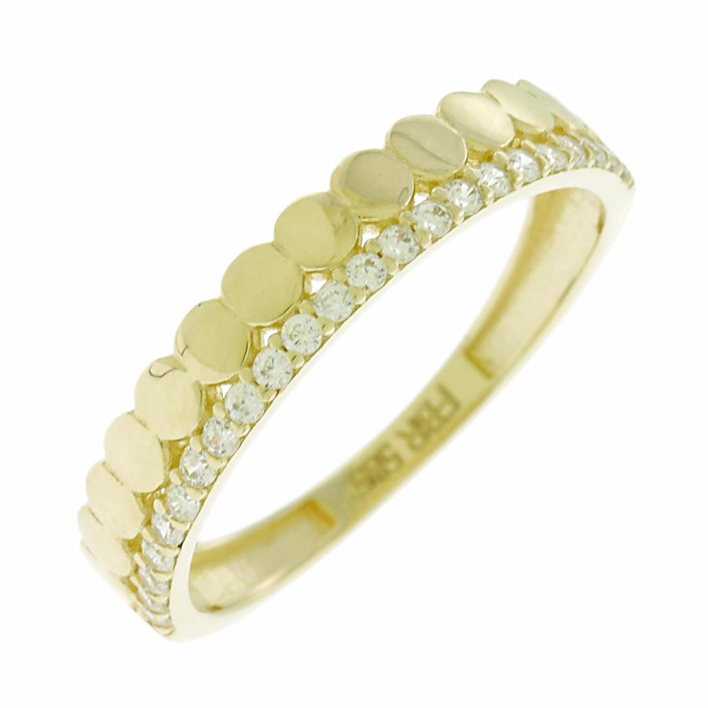 Σειρέ Δαχτυλίδι Κίτρινο 14 Καρατίων, Χρυσό Δαχτυλίδι, Δαχρτυλίδι με μαργαριτάρι, Δαχτυλίδι 14 καράτια, Δωρεάν εξοδα αποστολής, Αμεση Διαθεσιμότητα