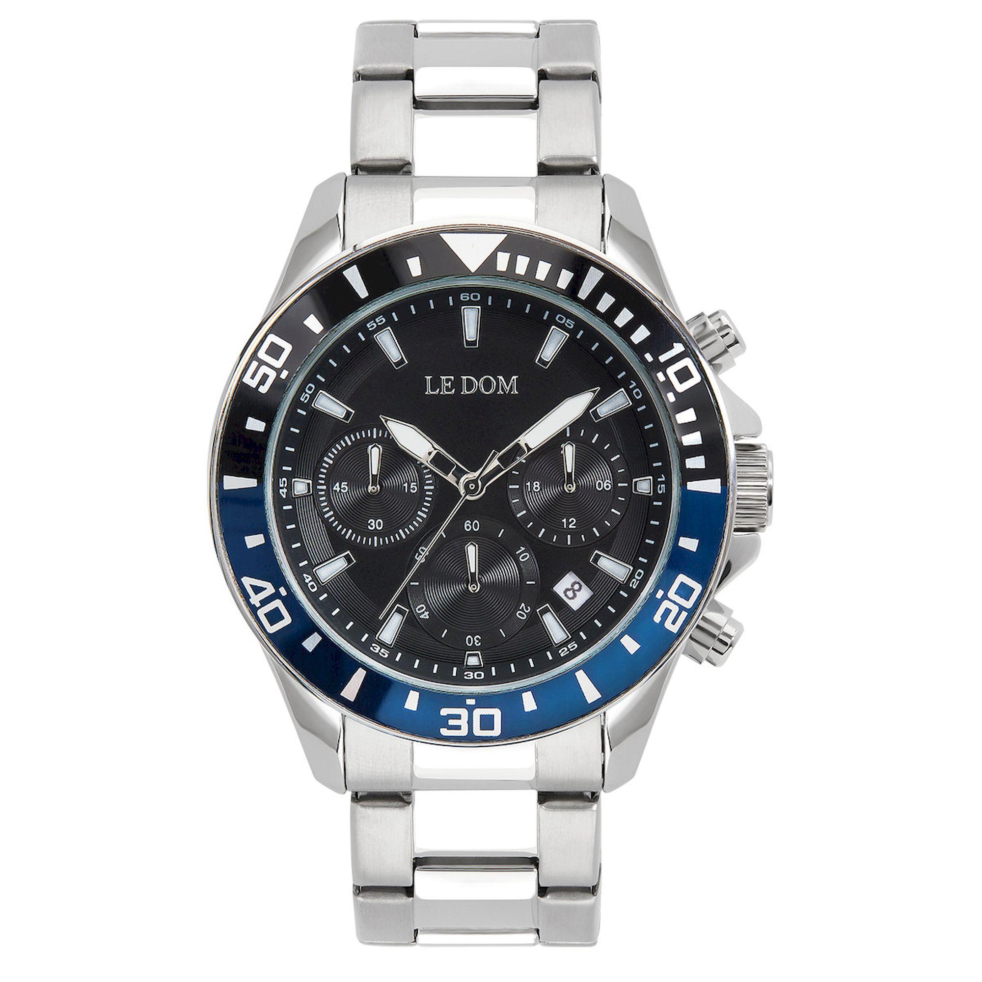 le dom, ανδρικό ρολόι, ρολόγια, Δωρεάν έξοδα αποστολής, Άμεση ΔΙαθεσιμότητα, Le Dom Ρολόγια