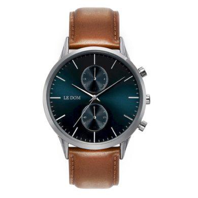 Le Dom Prime με Καφέ Λουράκι ld1002-12_1, le dom, ανδρικό ρολόι, ρολόγια, Δωρεάν έξοδα αποστολής, Άμεση ΔΙαθεσιμότητα, Le Dom Ρολόγια