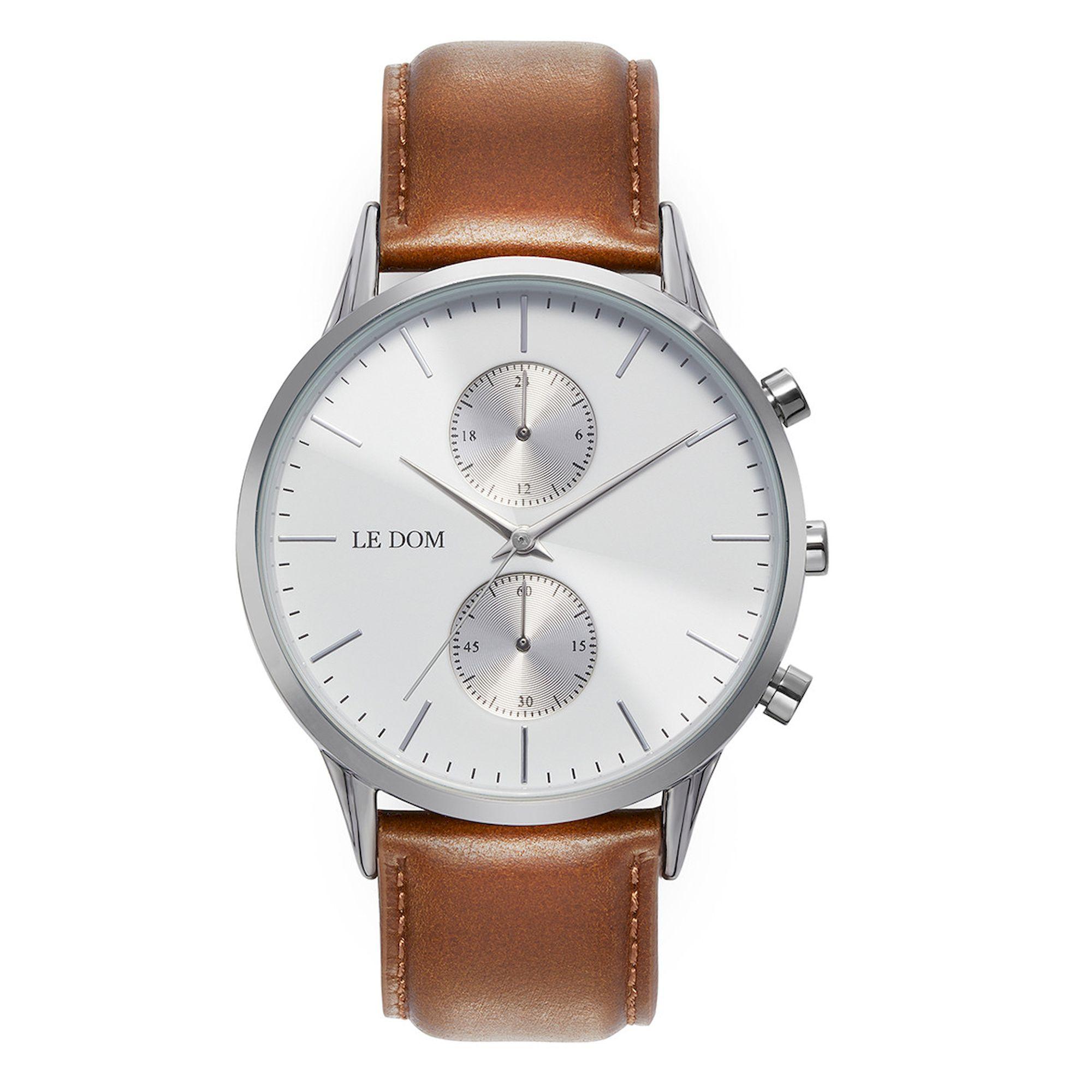 Le Dom Prime με Λευκό Καντράν Αld1002-13_1, le dom, ανδρικό ρολόι, ρολόγια, Δωρεάν έξοδα αποστολής, Άμεση ΔΙαθεσιμότητα, Le Dom Ρολόγια
