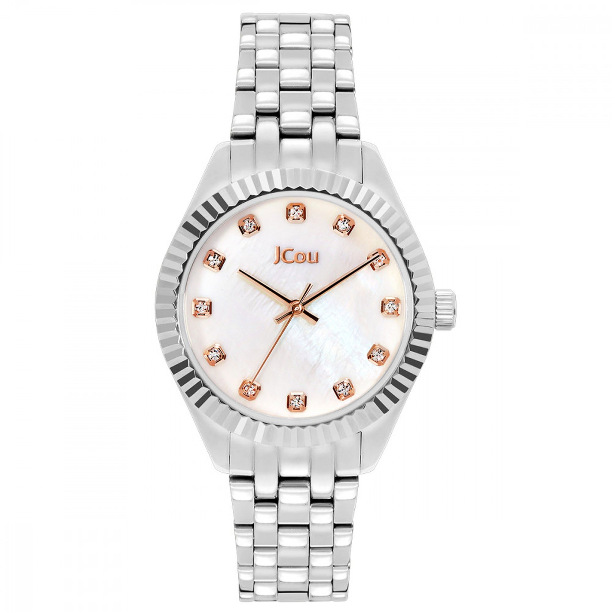 Jcou Lucille Silver,Loisir, Ρολόγια Loisir, Γυναικέια ρολόγια Loisir, δωρεάν τα έξοδα αποστολής, Loisir Dazzling