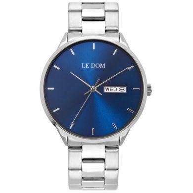 Le Dom Maxim με Μπλέ Καντράν LD.1435-2,le dom, ανδρικό ρολόι, ρολόγια, Δωρεάν έξοδα αποστολής, Άμεση ΔΙαθεσιμότητα, Le Dom Ρολόγια