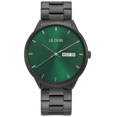Le Dom Maxim Black Bracelet LD.1435-4, le dom, ανδρικό ρολόι, ρολόγια, Δωρεάν έξοδα αποστολής, Άμεση ΔΙαθεσιμότητα, Le Dom Ρολόγια