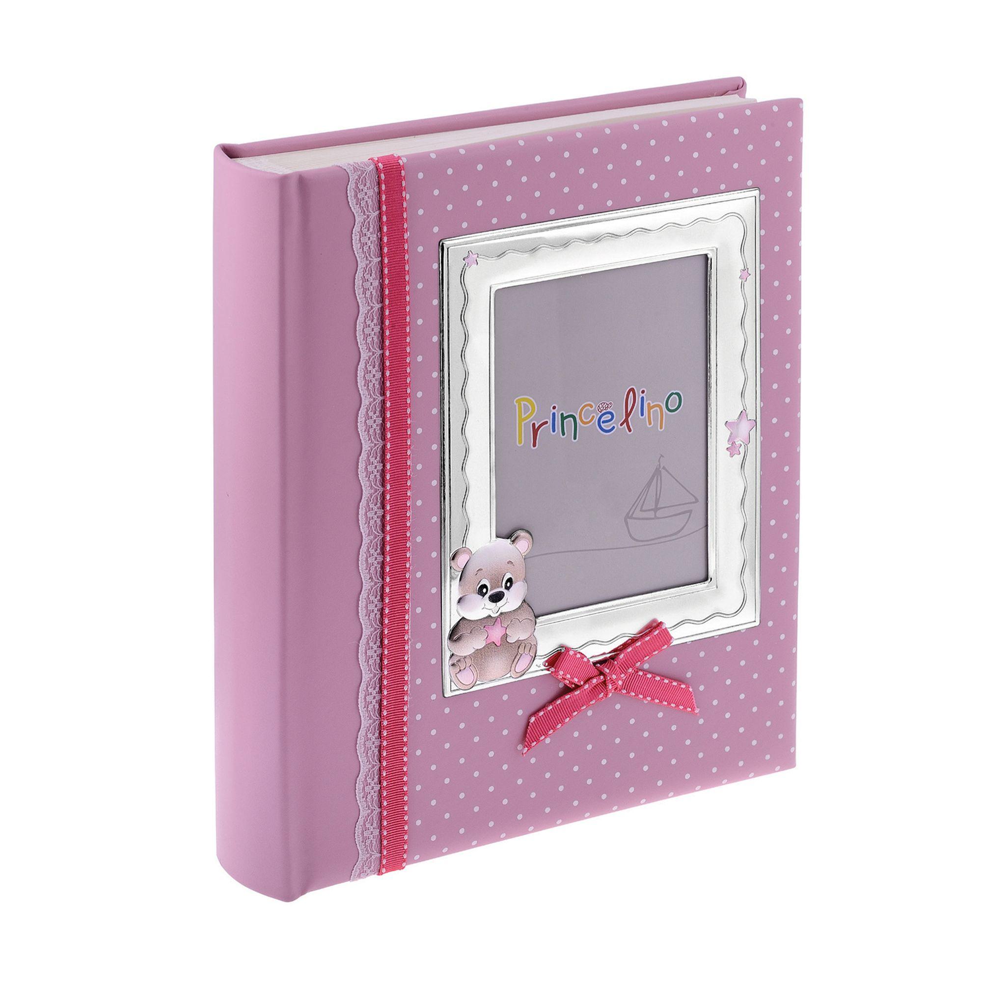 Princelino Παιδικό Αλμπουμ για Κοριτσάκι σε Ροζ Χρώμα