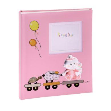 Princelino Παιδικό Αλμπουμ για Κορίτσι σε Τρενάκι, παιδικό άλμπουμ, Princesilvero, Αλμπουμ για κορίτσι, Δωρεάν μεταφορικά,