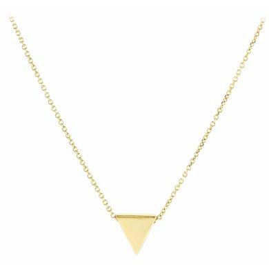 Χρυσό Κολιέ με Τρίγωνο 9 Καράτια , Κολιέ 9 Καρατίων, χρυσό κόσμημα, κολιέ, κόσμημα, Δωρεάν μεταφορικά