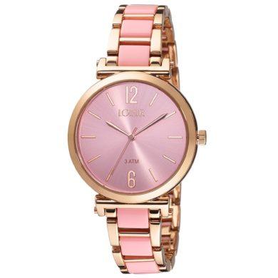 ρολόι, γυναικείο ρολόι, Loisir, Loisir ρολόι,Loisir Ρολόι Hollywood Ροζ 11L05-00504