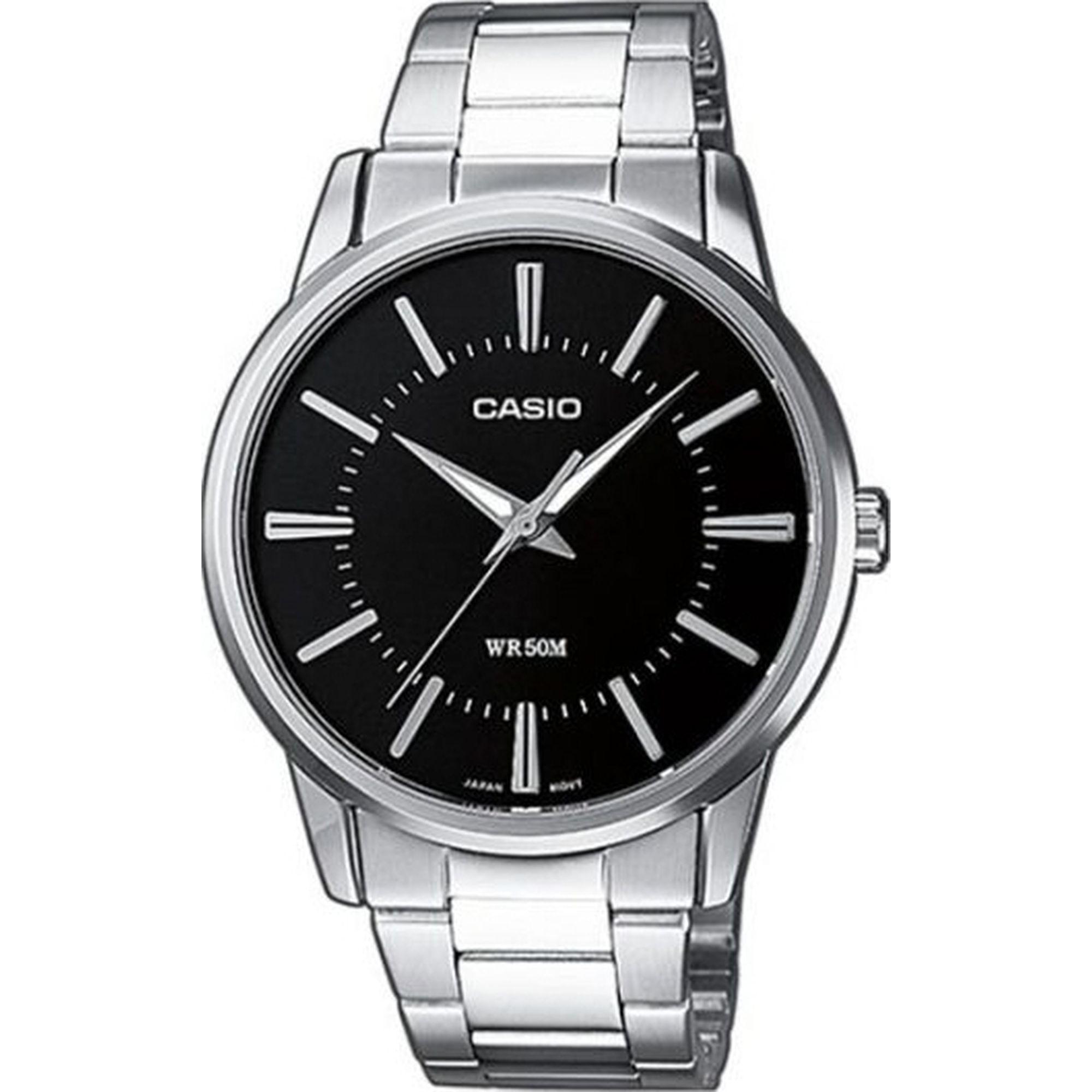 Casio Ρολόι με Μπρασελέ 40mm MTP-1303PD-1AVEF