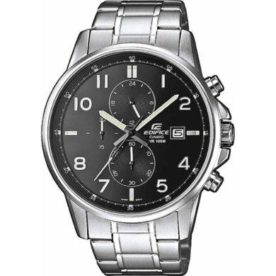 Casio Edifice Χρονογράφος Μαύρο με Ασημί Μπρασελέ EFR-505D-1AV, ρολόι, ανδρικό ρολόι, Casio, Casio ρολόι, δωρεάν μεταφορικά, άμεση διαθεσιμότητα