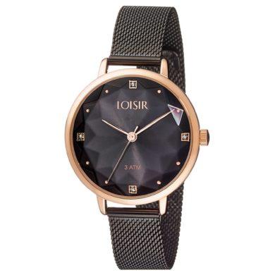 Loisir Ρολόι Chicago με Μαύρο Καντράν 11L05-00519