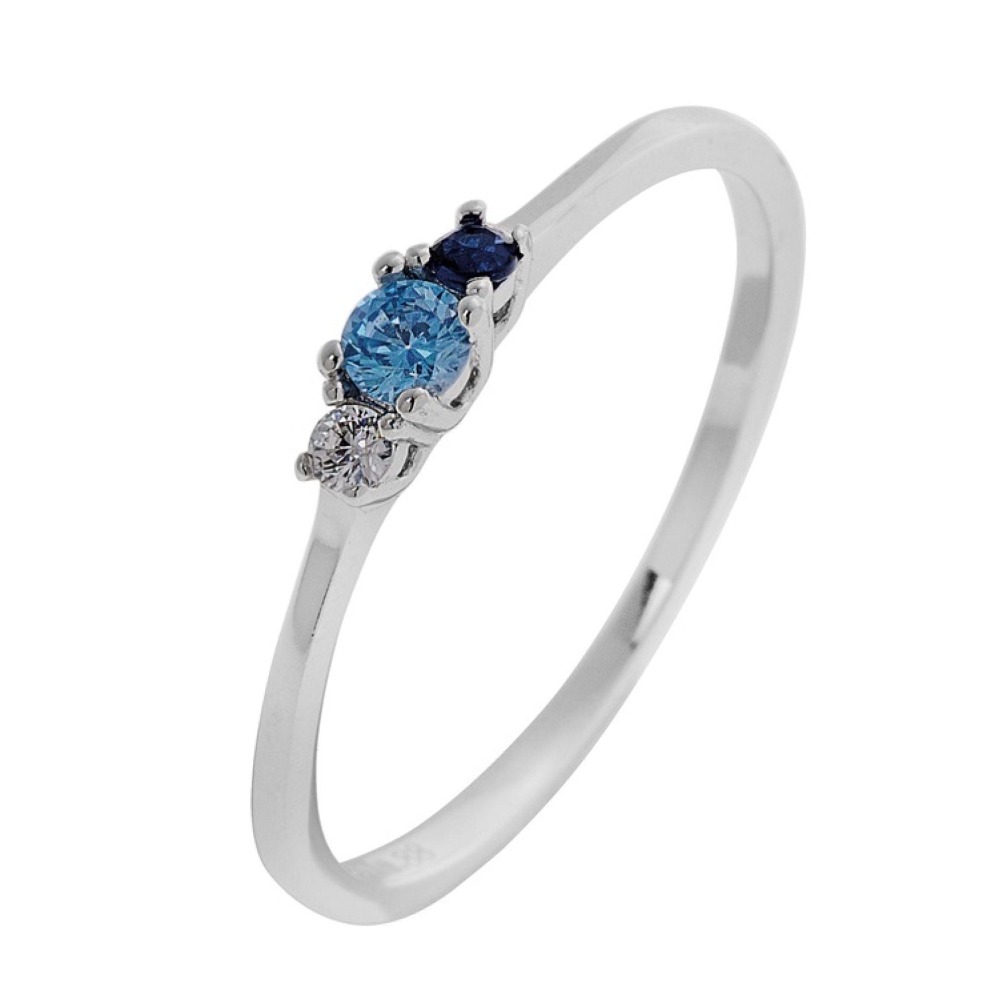 Ασημένιο δαχτυλίδι 925 με 3 Πέτρες