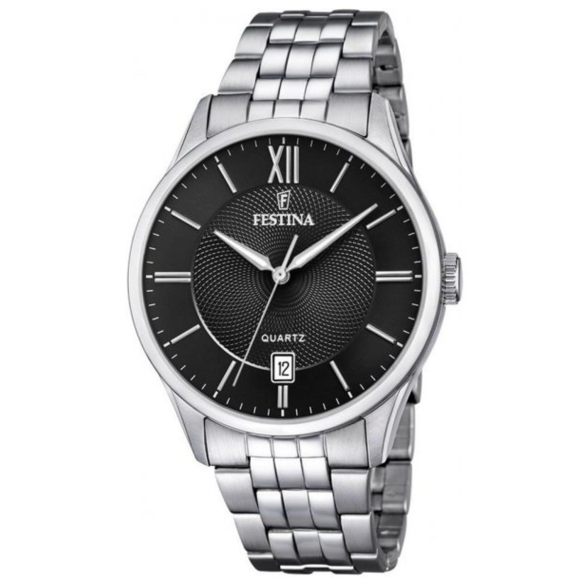 Ρολόι Festina με Μαύρο Καντράν F20425/3