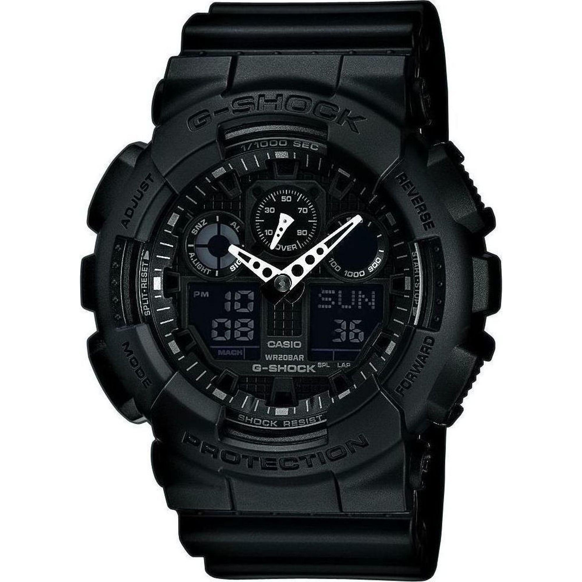 Μηχανισμός: Μπαταρίας, Μέγεθος: 55 mm, Αδιάβροχο: 20 Atm Ανθεκτικό και όμορφο ρολόι από τη συλλογή G-Shock για καθημερινή χρήση. Ειδικά σχεδιασμένο για να αντέχει έντονους κραδασμούς.