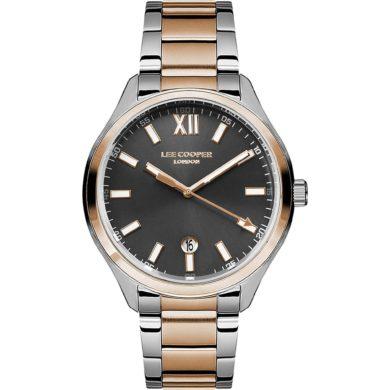 Ρολόι, Ρολόγια, Ανδρικά Ρολόγια, Lee Cooper Ρολόγια, Lee Cooper, Δωρεάν μεταφορικά, Lee Cooper Ρολόι με Δίχρωμο Μπρασελέ LC07101.560