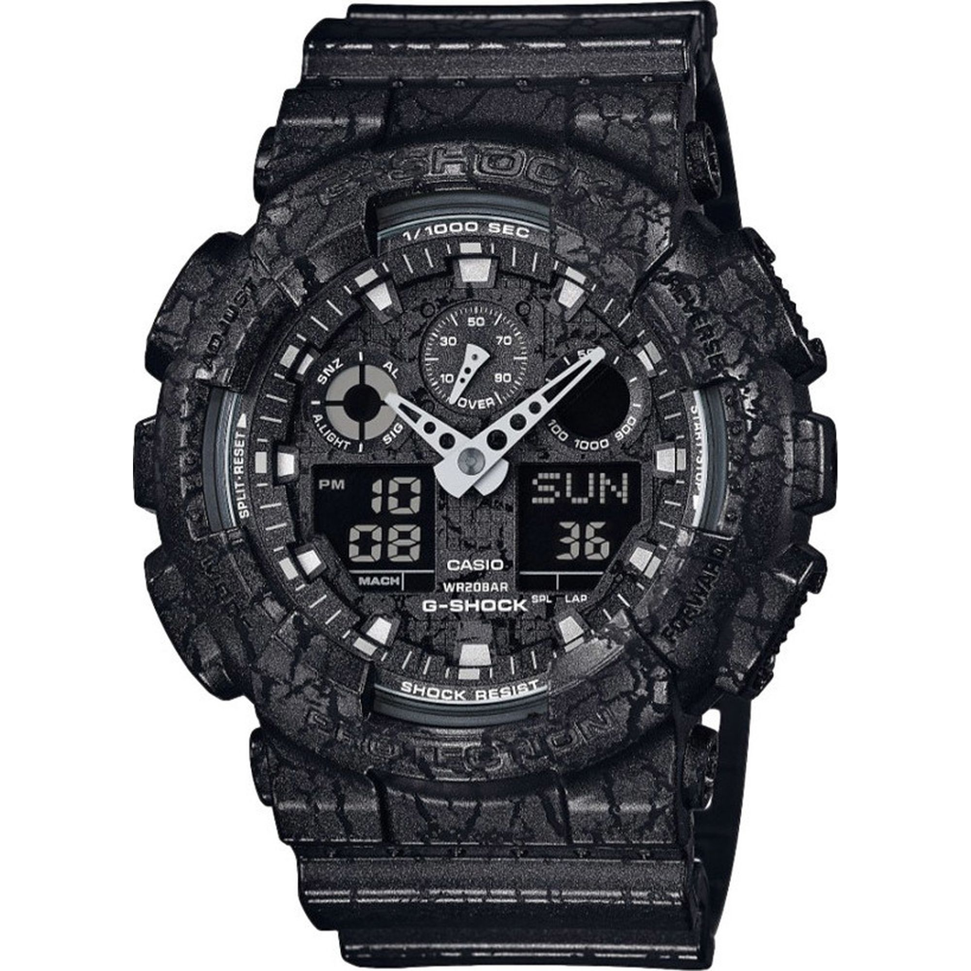 Casio G-Shock Analog-Digital Black case GA-100CG-1A