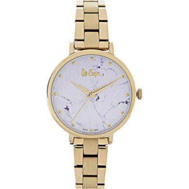 Γυναικείο Ρολόι, Ρολόι, Lee Cooper, Ρολόγια, Δωρεάν μεταφορικά,Lee Cooper Ρολόι με Μπρασελέ σε Χρυσό Χρώμα LC06801.130