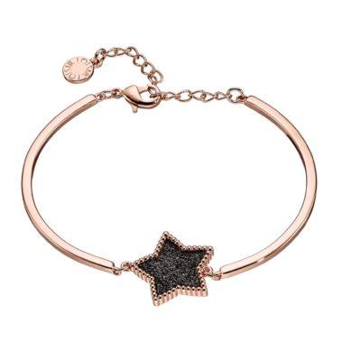 Loisir Βραχιόλι Dreamland Αστέρι με Μαύρες Πέτρες 02L15-00944