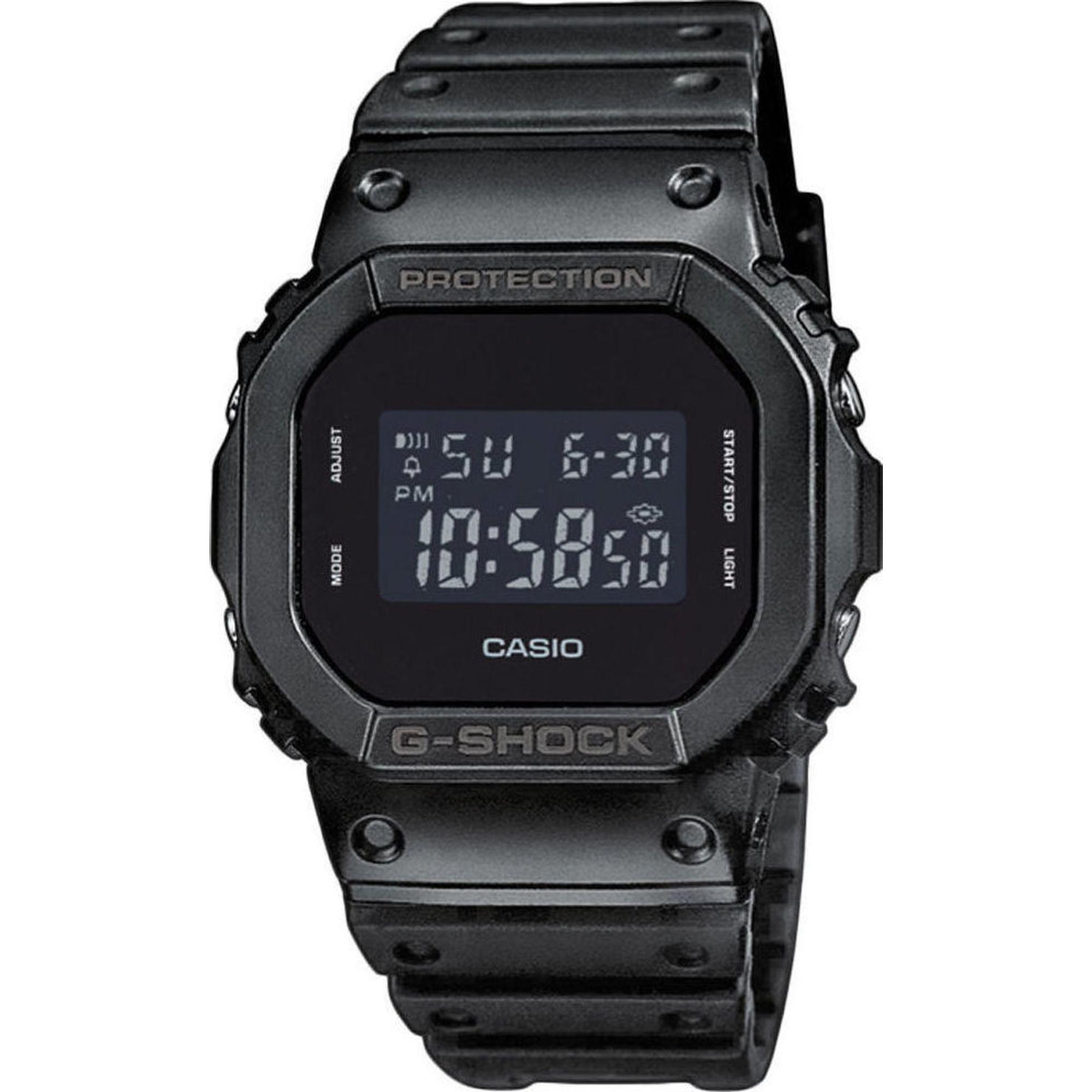 Casio G-Shock με Μαύρο Λουράκι DW-5600BB-1ER