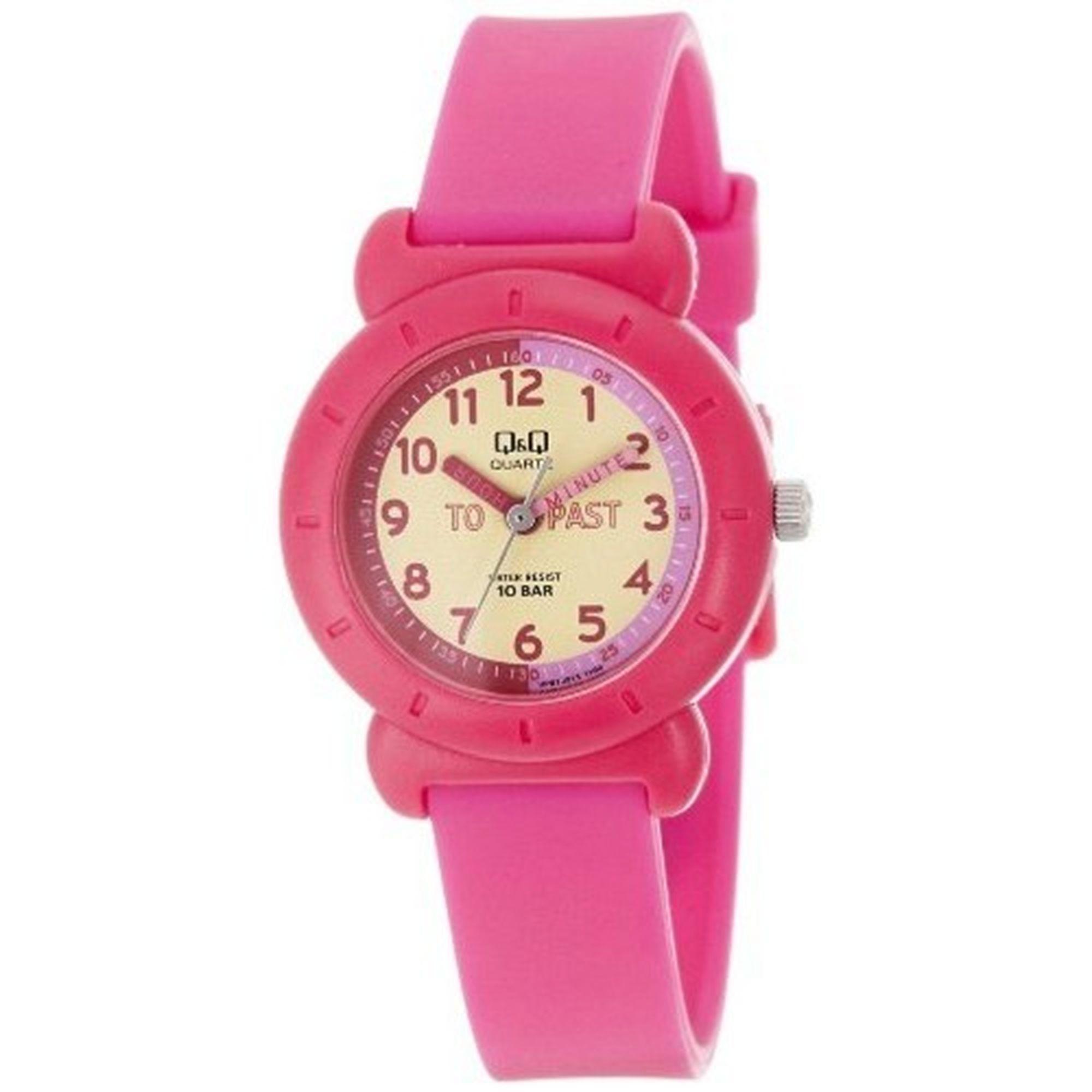 Q&Q Ρολόι σε Ροζ Χρώμα VP81J015Y