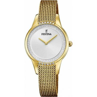 Festina Ρολόι με Χρυσό Μπρασελέ F20495-1