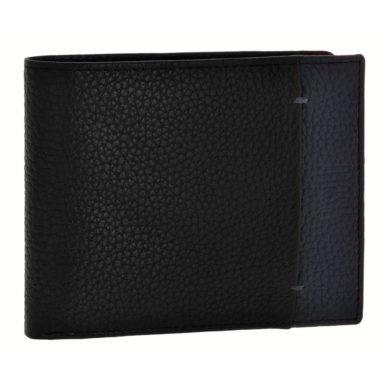 Δερμάτινο Πορτοφόλι Visetti σε Μαύρο Χρώμα XL-WA011BM