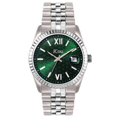 Jcou QUEEN'S II με Ασημί Μπρασελέ JU19038-3, Ρολόι, Ρολόγια, Χρυσό Μπρασελέ, JCou, Αδιάβροχα ρολόι, γυναικείο ρολόι,