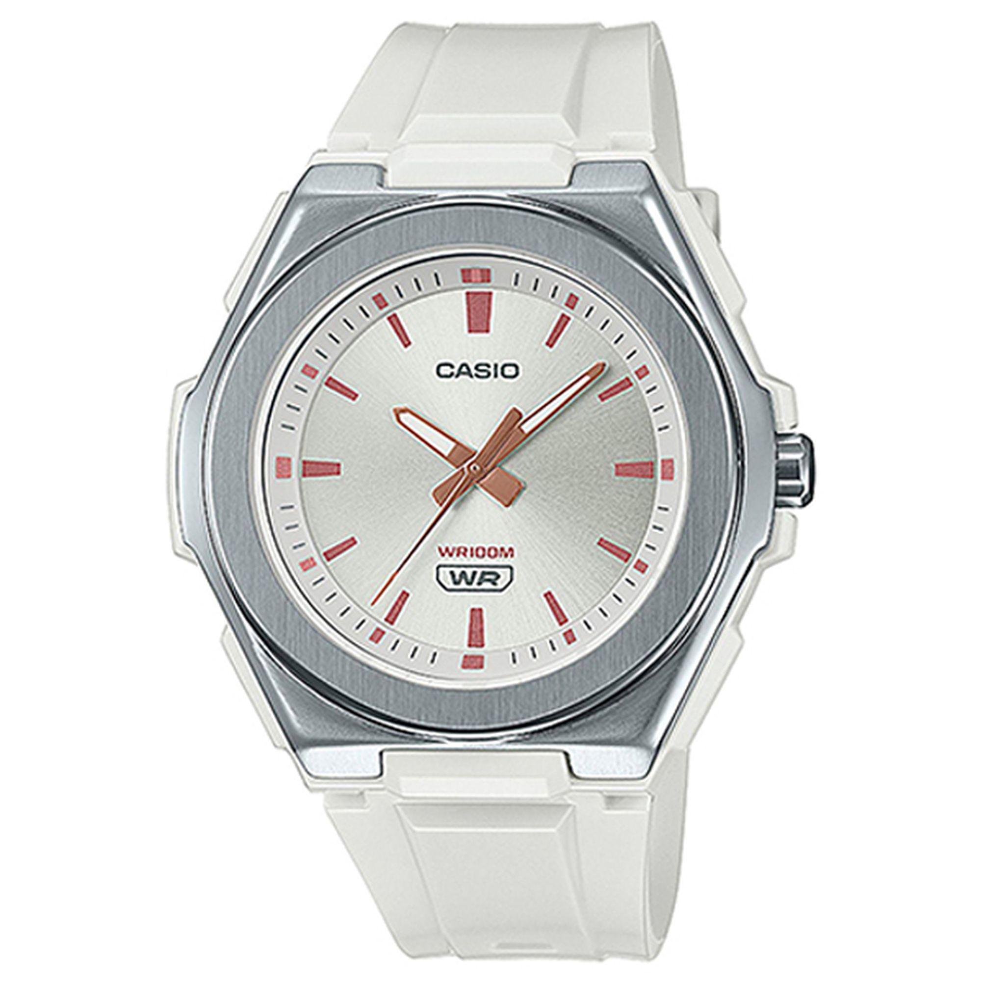 Casio Ρολόι με Λουράκι σε Λευκό χρώμα LWA-300H-7EVEF