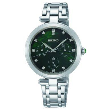 Seiko Ρολόι Caprice με Πράσινο Φίλντισι SKY063P1