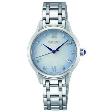 Seiko Ρολόι με Λευκό Φίλντισι SRZ539P1 Limited Edition