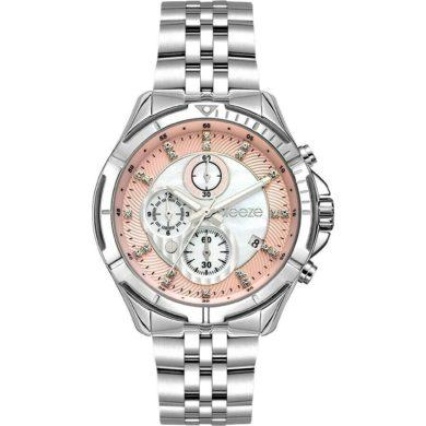 Breeze Empressa με Ασημί Μεταλλικο Μπρασελέ 612191.4, ρολόι, γυναικέιο ρολόι, Breeze, breeze roloi, rologia,