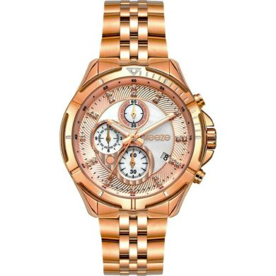 Breeze Empressa με Ροζ Χρυσό Μεταλλικο Μπρασελέ 212191.4, ρολόι, γυναικέιο ρολόι, Breeze, breeze roloi, rologia,